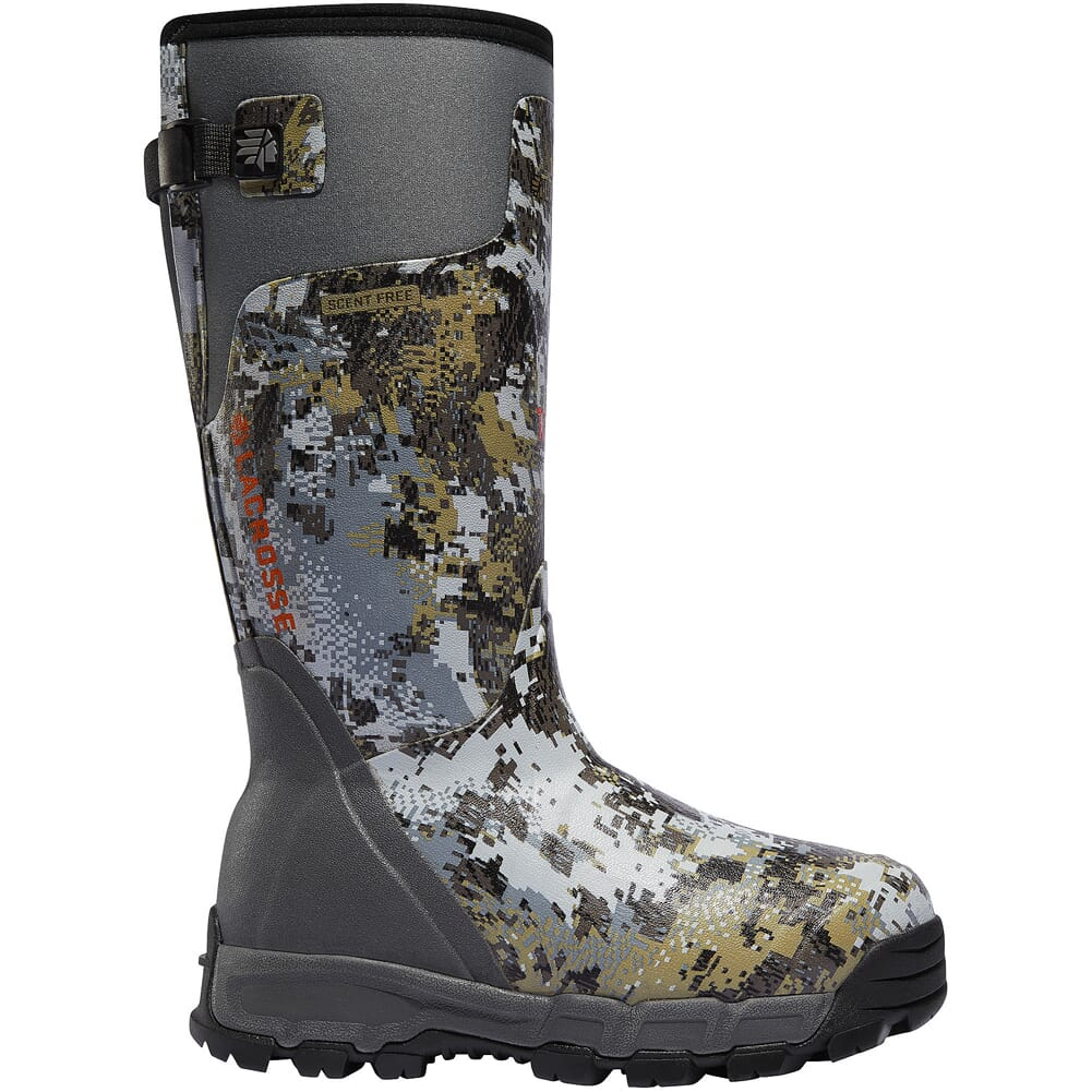 """Lacrosse Alphaburly Pro 18"""" Gore Optifade Elevated II 1600g Insulated Hunting Boots 376018"""