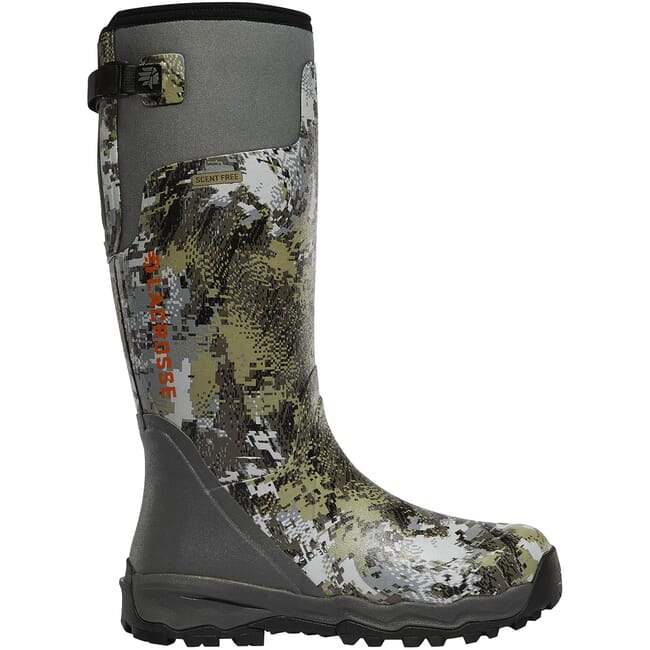 "Lacrosse Alphaburly Pro 18""  Gore Optifade Elevated II Non-Insulated Hunting Boots 376033"