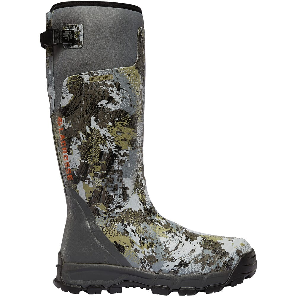 """Lacrosse Alphaburly Pro 18"""" Gore Optifade Elevated II 800g Insulated Hunting Boots 376035"""