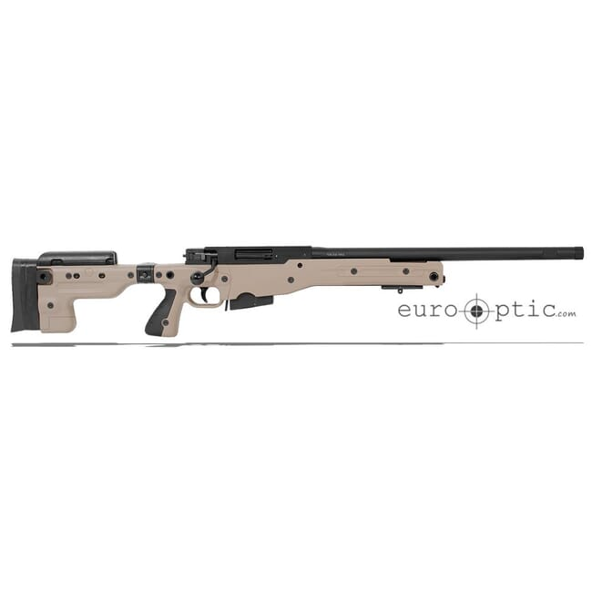 "Accuracy International AT .308 20"" Threaded Folding Stock Pale Brown Rifle 27718PB20IN"