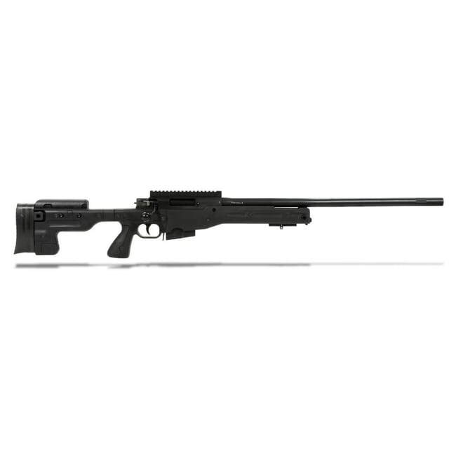 Accuracy International AT Rifle - Fixed Black Stock - 308 Win 24 inch non threaded bbl - small firing pin