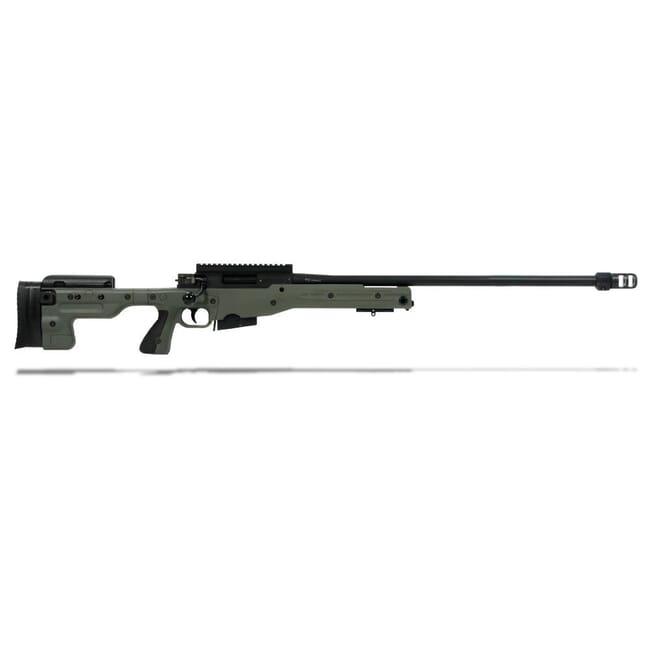 Accuracy International AT Rifle - Fixed Green Stock - 308 Win 26 inch threaded bbl std brake - small firing pin