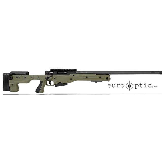 "Accuracy International AT .308 24"" Threaded Fixed Stock Sage Green Rifle 27719GR24IN"