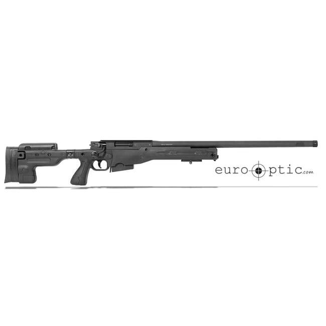 "Accuracy International AT .308 24"" Threaded Folding Stock Black Rifle 27718BL24IN"