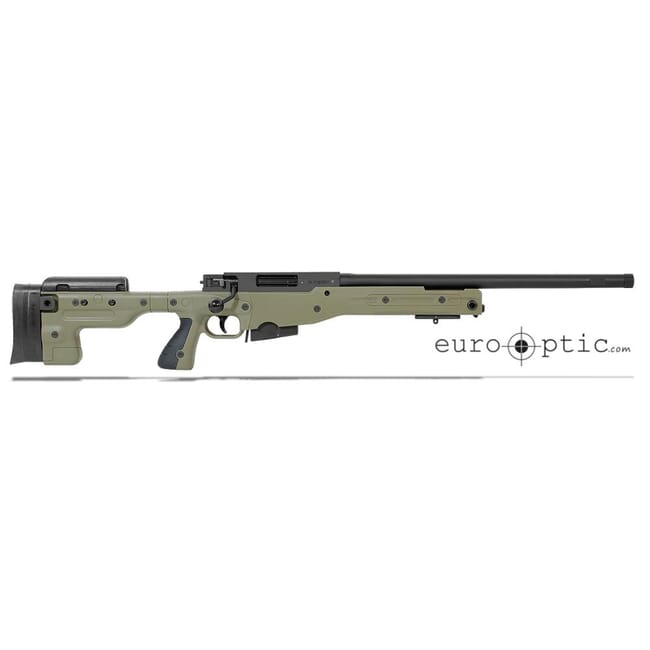 "Accuracy International AT .308 20"" Threaded Sage Green Fixed Stock Rifle 27719GR20IN"