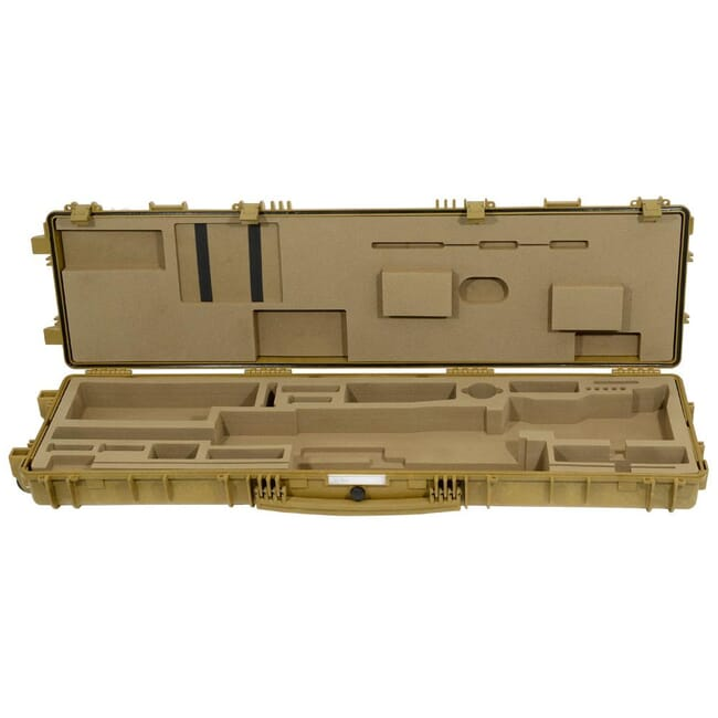 Accuracy International TRANSIT CASE (Explorer Plastic) Fitted for AW rifle Dark Earth 6186DE 6186DE