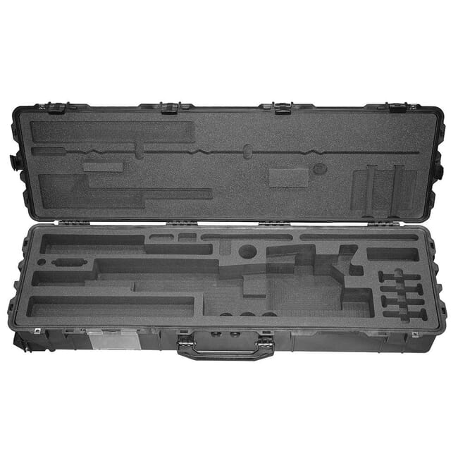 Accuracy International FITTED TRANSIT CASE (PELI Plastic) Fitted for AX50 Black 20028 20028