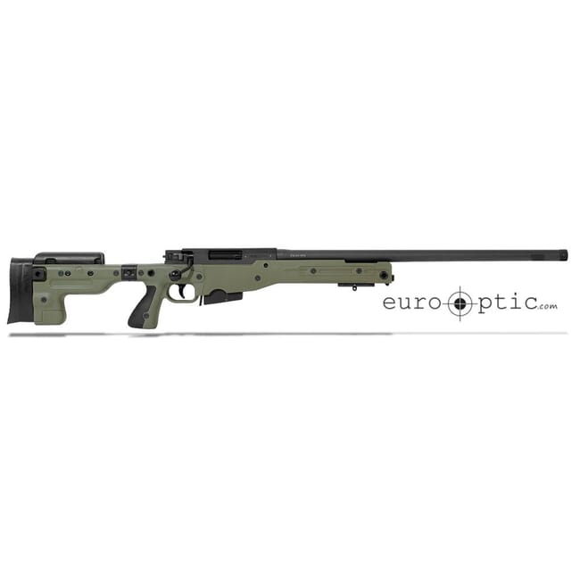 "Accuracy International AT .308 24"" Threaded Folding Stock Sage Green Rifle 27718GR24IN"