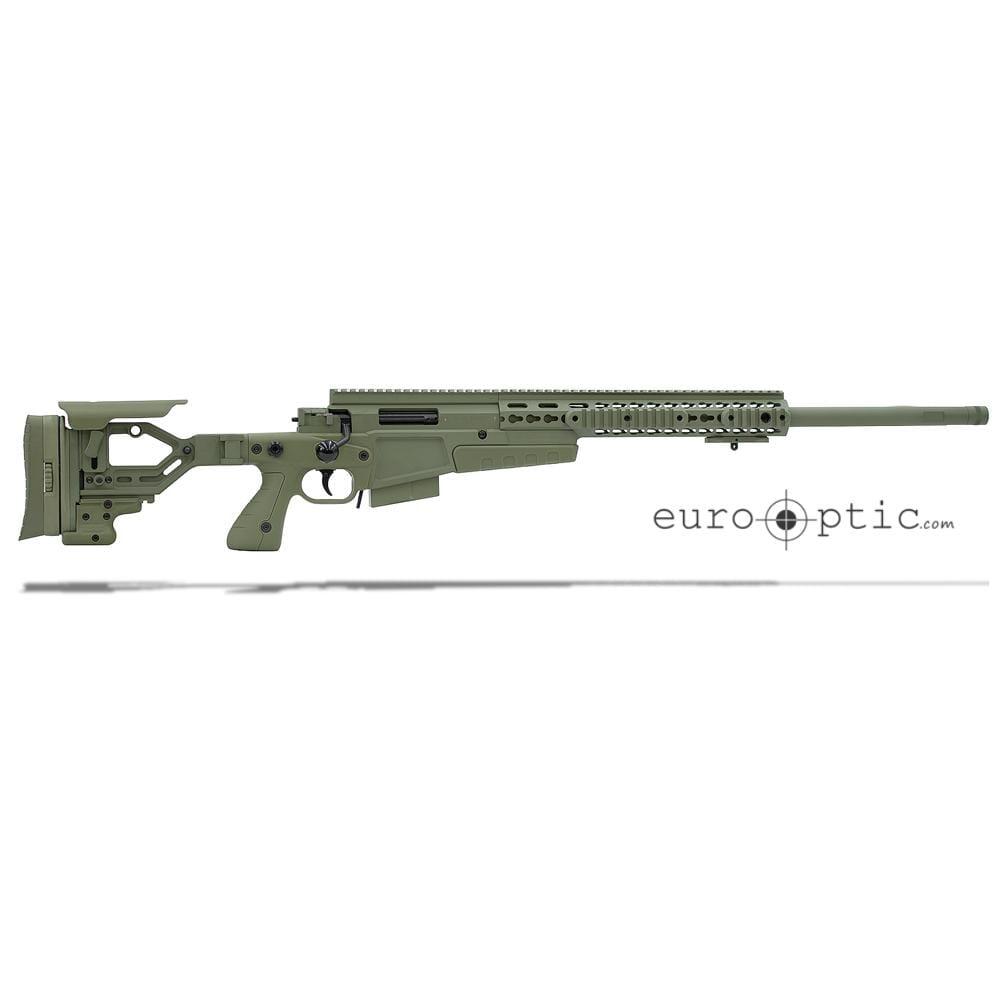 """Accuracy International AXSA 6.5 Creedmoor Threaded 24"""" Sage Green Rifle SA65CM24SGR"""