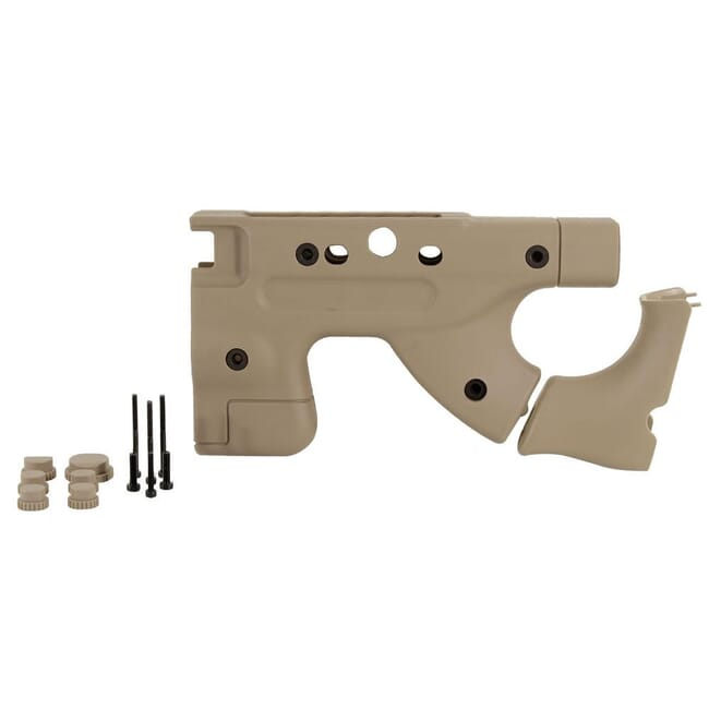 AI Pale Brown Fixed Thumbhole Grip Upgrade Kit 26722PB