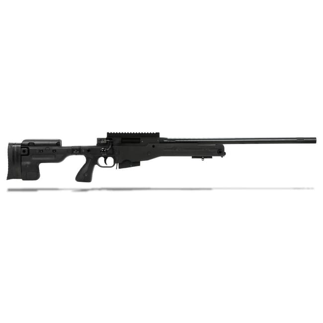 Accuracy International AT Rifle - Folding Black Stock - 308 Win 24 inch non threaded bbl - small firing pin