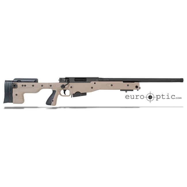 "Accuracy International AT .308 20"" Threaded Fixed Stock Pale Brown Rifle 27719PB20IN"