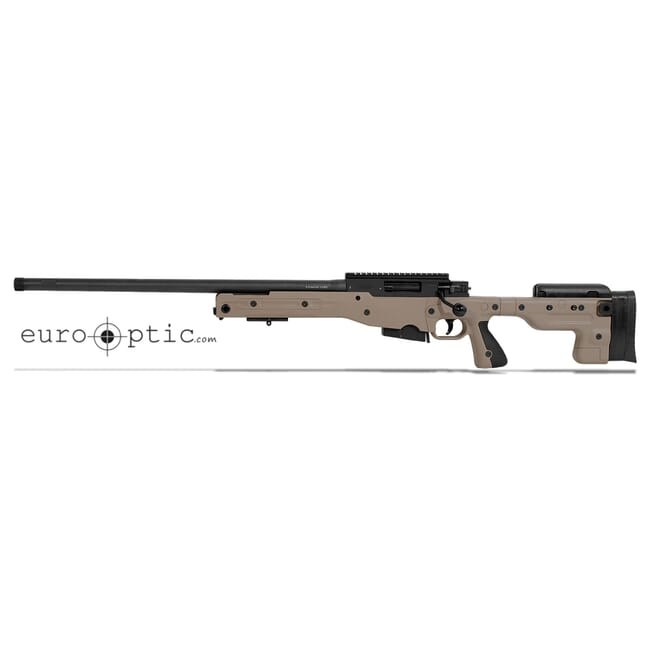 Accuracy International AT Pale Brown Rifle 6.5CM Fixed LH