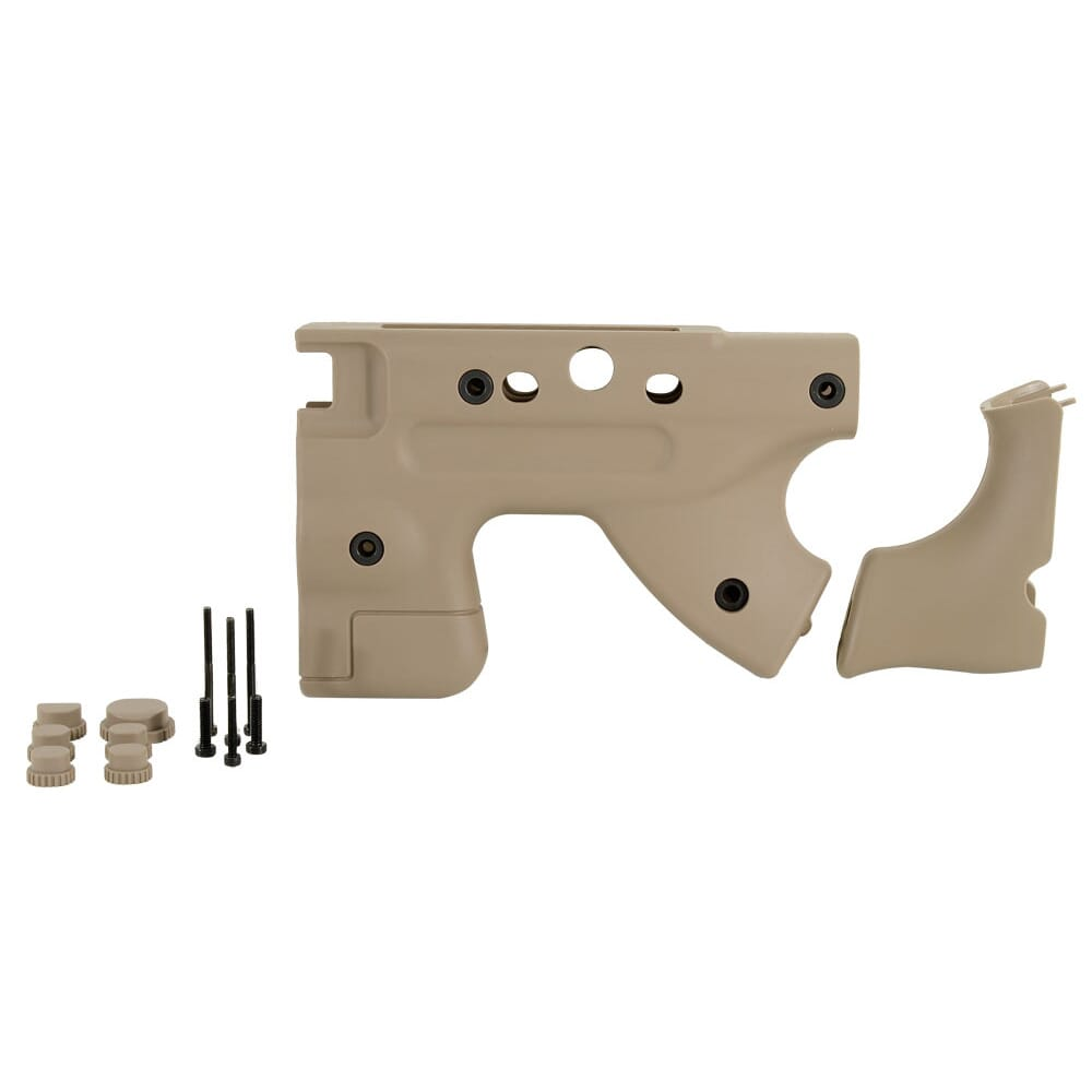 AI Pale Brown Folding Thumbhole Grip Upgrade Kit 26723PB
