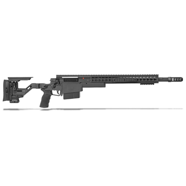 "Accuracy International AXSR Folding Rifle .338 Lapua Mag Black 20"" 3/4""-24 w/Brake  SR38L20MBL"