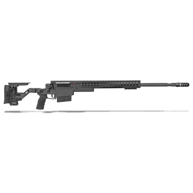 "Accuracy International AXSR Folding Rifle .300 Norma Mag Black 27"" 3/4""-24 w/Brake  SR30N27MBL"