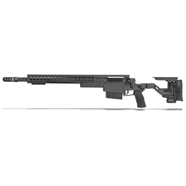 "Accuracy International AXSR Folding Left Hand Rifle .300 Win Mag Black 20"" 3/4""-24 w/Brake SR30W20MLHBL"