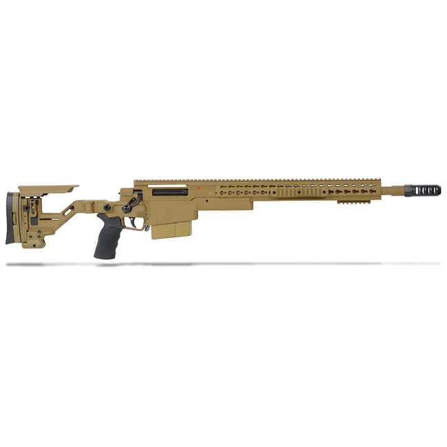 "Accuracy International AXSR Folding Rifle .338 Lapua Mag Dark Earth 20"" 3/4""-24 w/Brake  SR38L20MDE"