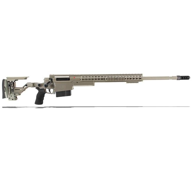 "Accuracy International AXSR Folding Rifle .338 Norma Mag Elite Sand 27"" 3/4""-24 w/Brake  SR38N27MES"