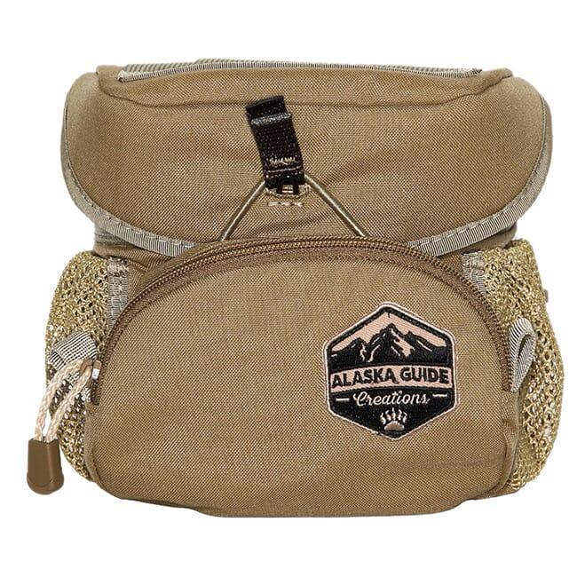 Alaska Guide Creations Hybrid - Coyote Brown Binocular Pack HYB-CB
