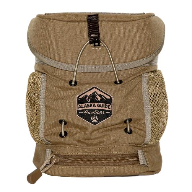 Alaska Guide Creations KISS Max - Coyote Brown Binocular Pack KSM-CB