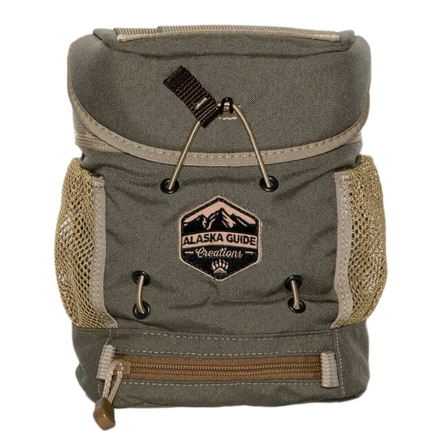 Alaska Guide Creations KISS Max - Ranger Green Binocular Pack KSM-RG