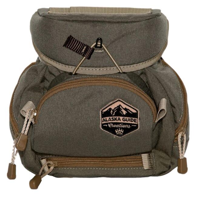 Alaska Guide Creations Kodiak Cub Max - Ranger Green Binocular Pack KCM-RG