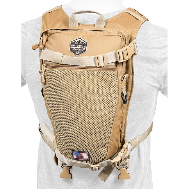 Alaska Guide Creations Stalker - Coyote Brown Hydration Pack STK-CB