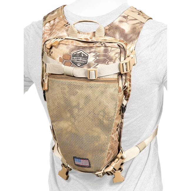 Alaska Guide Creations Stalker - Kryptek Highlander Hydration Pack STK-KRY