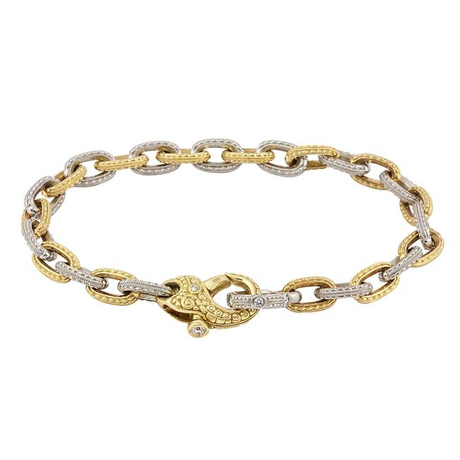 """Alex Sepkus 18K Platinum and Diamond """"Victorian"""" Bracelet"""