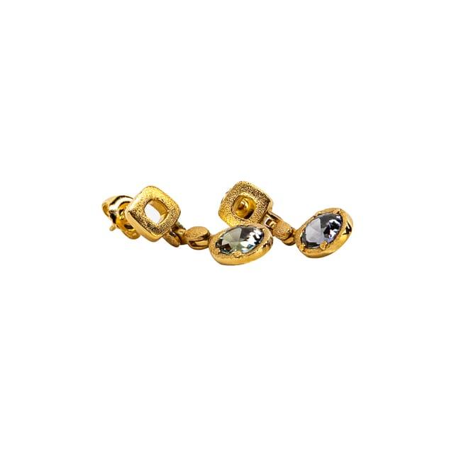 Alex Sepkus 18k Unheated Tanzanite 2.67ct Earrings E-245