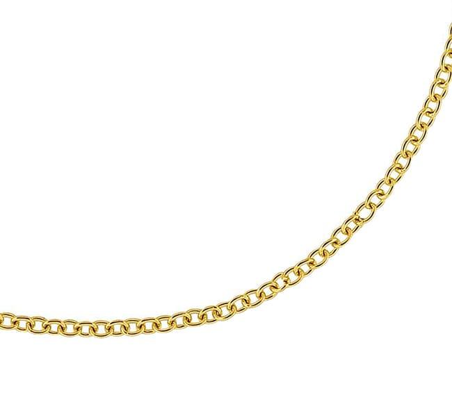 """Alex Sepkus 1.9mm 18"""" Cable Link Chain"""