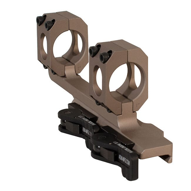 """ADM AD-Recon 30 MOA 1"""" Tac Lever FDE Cantilever Scope Mount"""