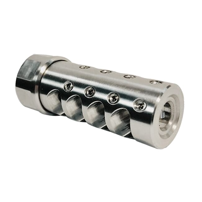 APA The Answer Muzzle Brake 1/2x28 .223 Cal Stainless Steel