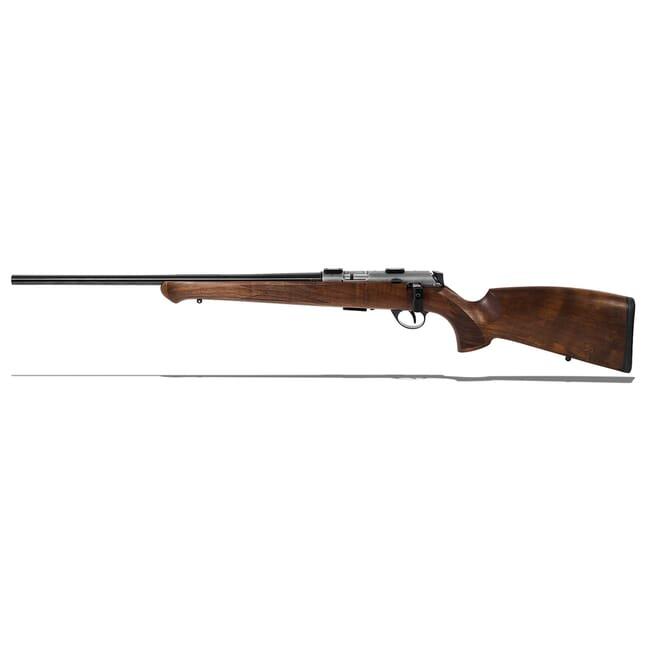 "Anschutz 1727L F Walnut German Stock, .17 HMR, 22"" Left - 013666"