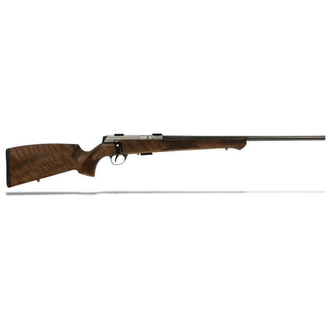 "Anschutz 1727 F Walnut German Stock, .17 HMR, 22"" - 013169"