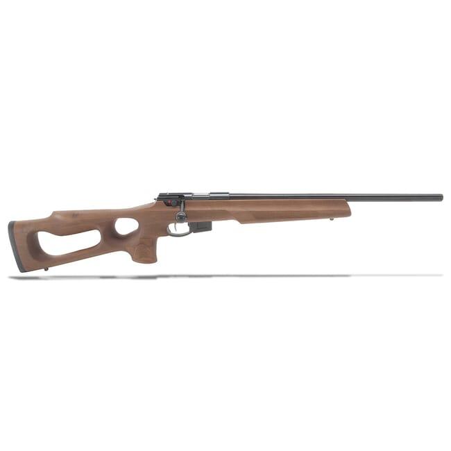 "Anschutz 1761HB .22 LR 20"" G-28 LT Walnut Thumbhole Stock Rifle A015611"
