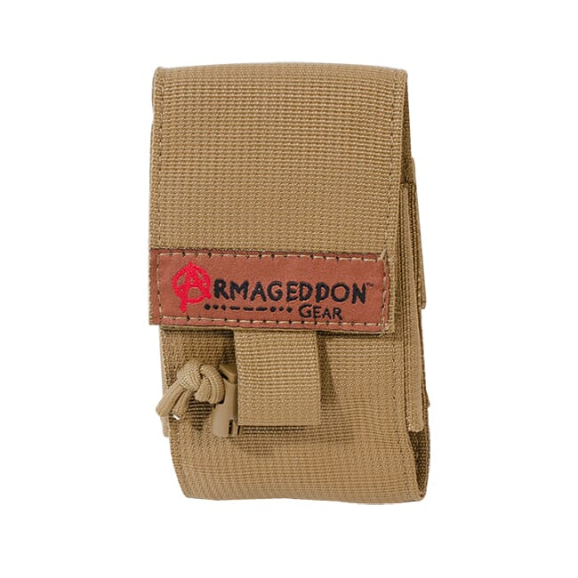 Armageddon 10-round Adjustable AICS/AW Mag Pouch Coyote Brown AG0570