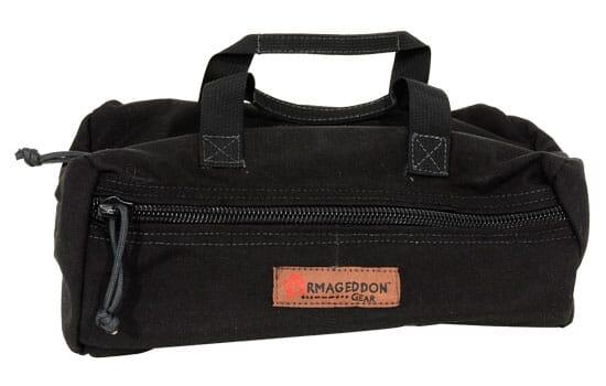 Armageddon Top-Zip Utility Pouch Black AG0152