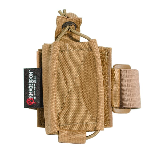 Armageddon Gear Modular Armband w/Medium Carrier for iPhone 5 Coyote Brown AG0563-CB