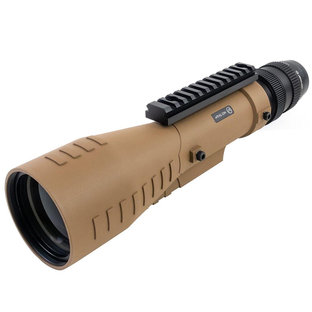Athlon Cronus Tactical 7-42x60mm UHD Straight Tan Spotting Scope w/Ranging Reticle 311003T