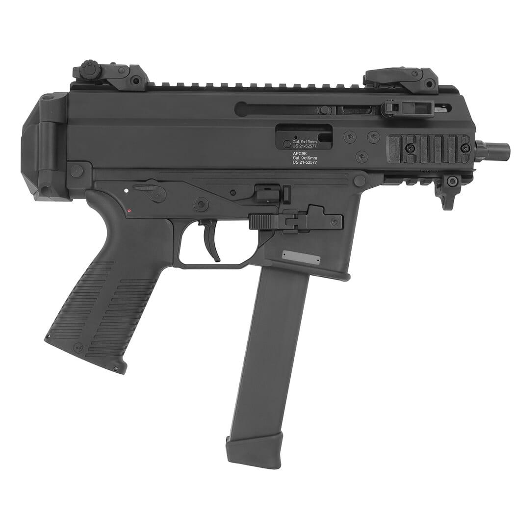 B&T APC9K PRO-G 9mm Pistol w/Glock Lower BT-36045-G