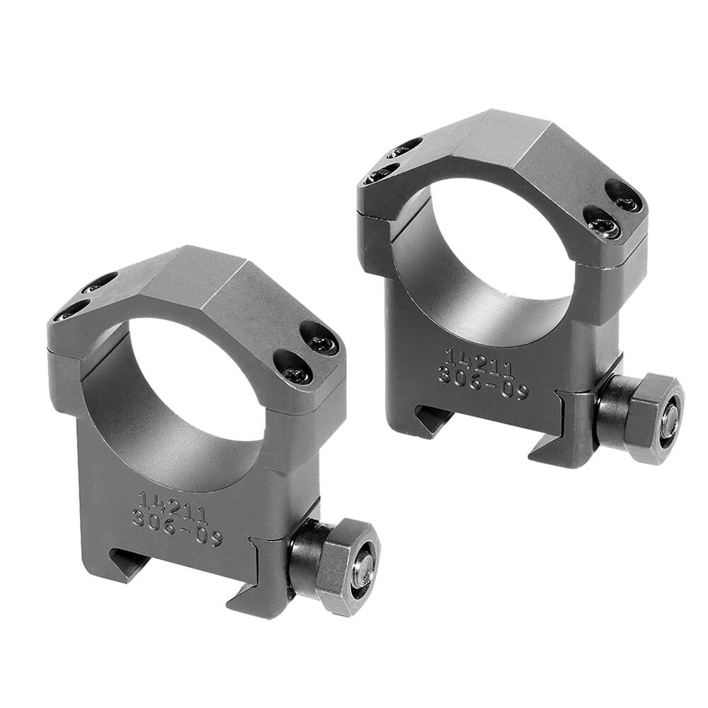 """Badger Ordnance 30mm High 1.125"""" Steel Ring Set 306-09"""