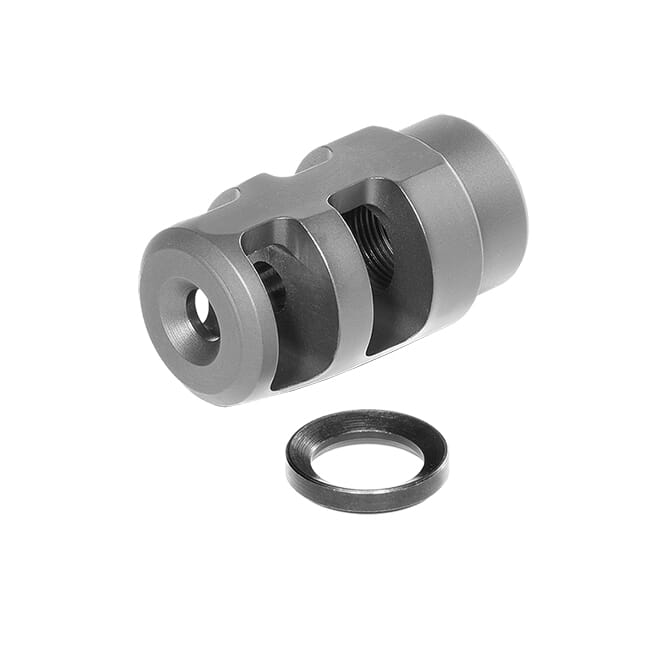 Badger Ordnance Micro FTE Muzzle Brake 5/8-24 for .30 Caliber 249-82