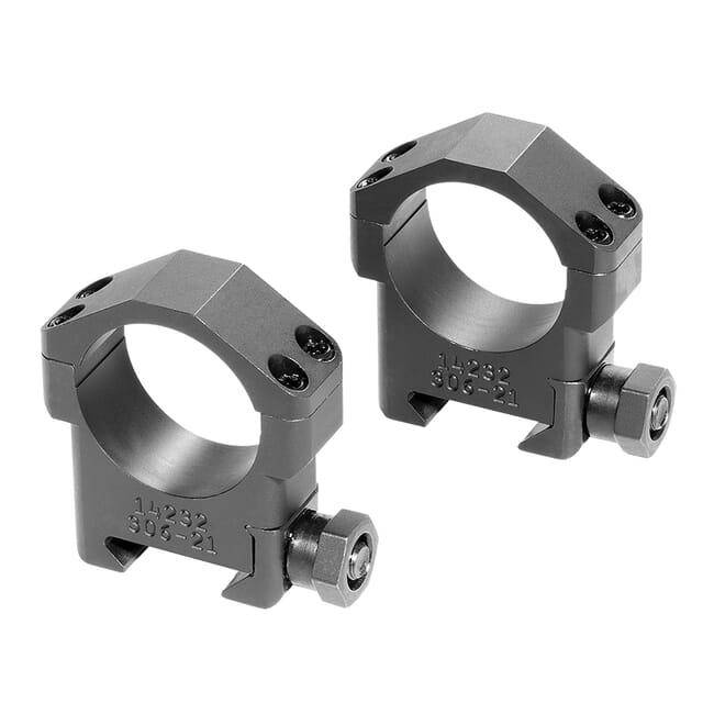"Badger Ordnance 30mm Medium High 1.00"" Steel Ring Set 306-21"
