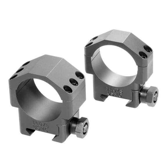 """Badger Ordnance 34mm Standard 1.00"""" Steel Ring Set 306-75"""