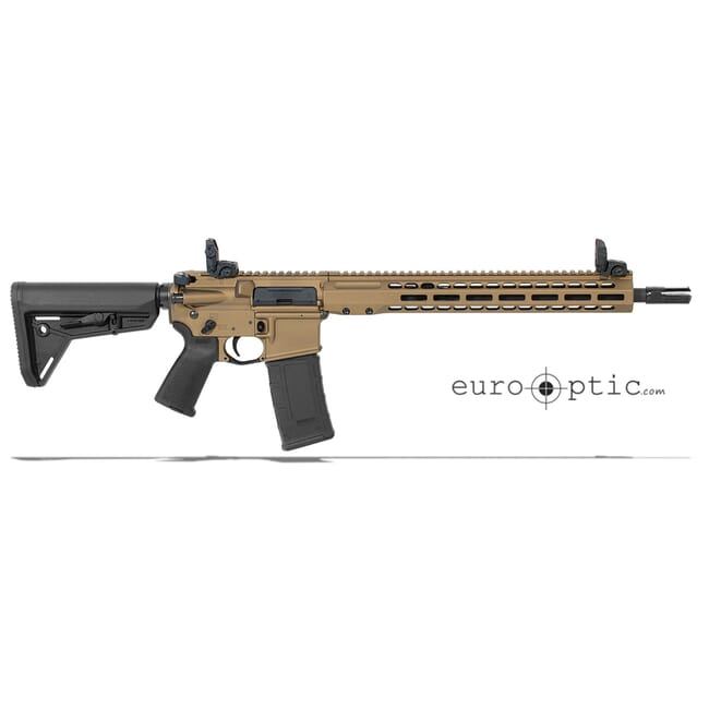 "Barrett REC7 DI 6.8 SPC 16"" Burnt Bronze Cerakote M-LOK Carbine Rifle Showroom Demo 17139"