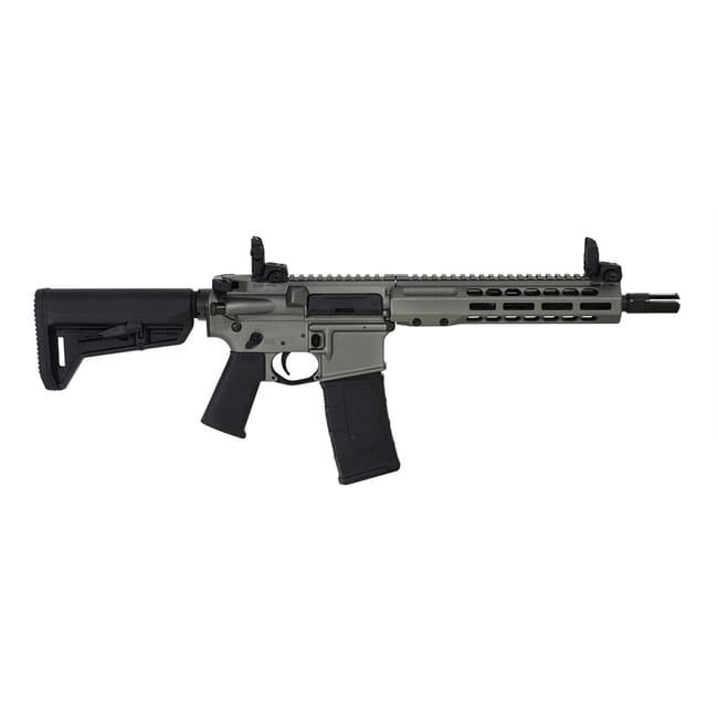 "Barrett REC7 DI 300 Blackout 10.25"" Tungsten Grey Cerakote SBR 17949"
