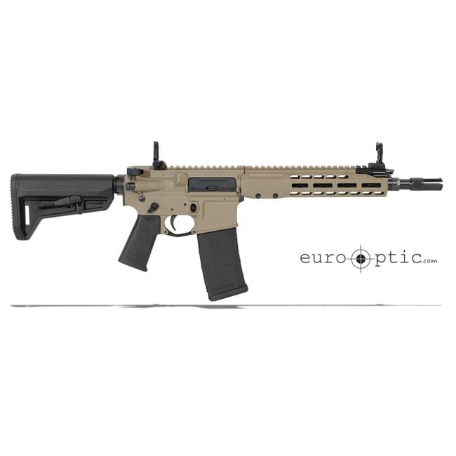 "Barrett REC7 5.56 NATO 11.5"" SBR FDE Cerakote M-LOK Rifle Showroom Demo 17039"