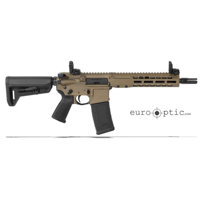 "Barrett REC7 DI 300 Blackout 10.25"" Burnt Bronze Cerakote SBR 18020"